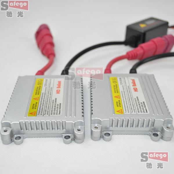 2X HID xenon slim ballast 12v 35w blocks ignitor reactor ballastro for car light source headlight H4 H7 H3 H11 xenon ballast 35w(China (Mainland))