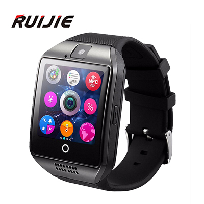 2016 New Bluetooth smart watch Apro Q18 Support NFC SIM GSM Video camera Support Android/IOS Mobile phone Wrist Smartwatch(China (Mainland))