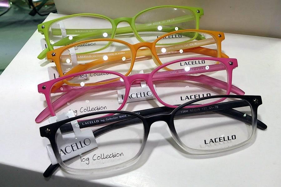 trendy eyeglasses ysgm  High End Lacello Acetate Glasses Frame, Full Rim Unisex Trendy  Eyeglasses, Plastic Men &