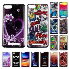 Doogee X5 max X5 Pro Homtom HT7 HT17 wileyfox swift 2 BQ S5020 case colorful painting silicone soft TPU phone case back cover