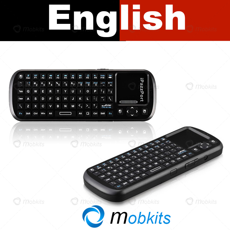 iPazzPort KP-810-19 BTT Original Bluetooth Mini Keyboard English Air Mouse for Android TV Box Bluetooth Fly Gaming Teclado(China (Mainland))