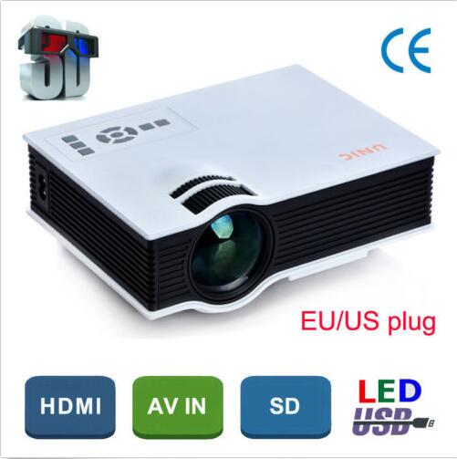 Hot sale ! The best HD Portable Pico LCD LED Video Mini Projector 3D Beamer projektor Proyector for home cinema(China (Mainland))
