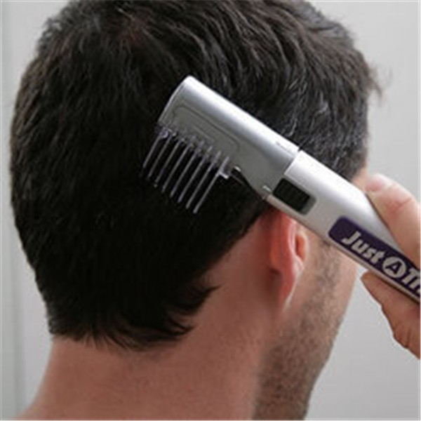 Free shipping Portable Just A Trim Electric Hair Clipper Hair Trimmer Beard Mustache Cutting Machine Shaver For Men And Kids(China (Mainland))