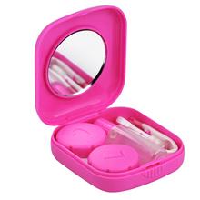 10 Pack HOT SALE!Pink Mini Contact Lens Travel Kit Case – Pocket Size