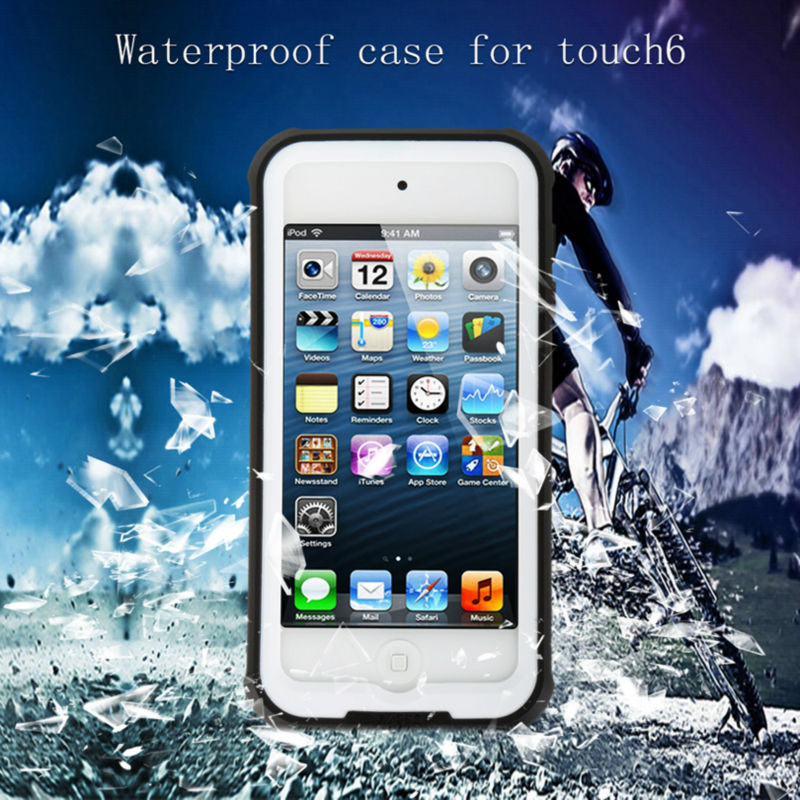 100% Original Redpepper Waterproof Case For apple Ipod Touch 6 Water/Shock/Dirt/Snow Proof phone cover for ipod touch6 Wholesale(China (Mainland))