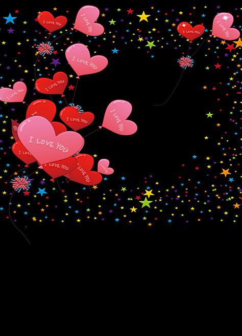 Фотография 600CM*300CM(20ft*10ft ) Fundo Starry sky night sky Heart design balloon  Backgrounds vinyl photography backdrop AY 1124