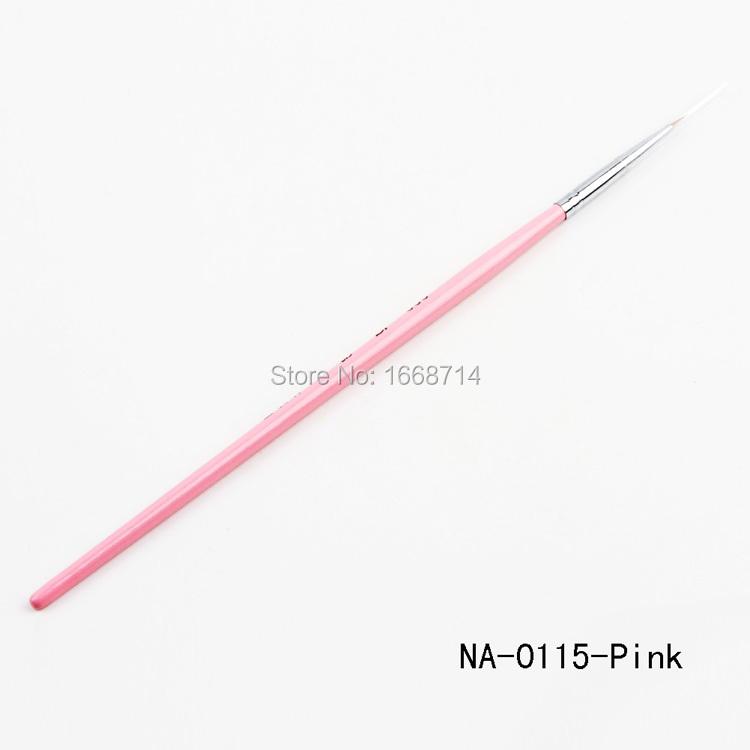 Кисточка для ногтей Ali-Beauty DIY , NA-0115-PK\YWM кисточка для ногтей yifu store 1 2ways diy nao10