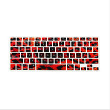 3D Leopard Pattern Silicone Laptop Keyboard Skin Protector Cover Film Guard For All Apple Macbook Pro Air Retina 13 15 17