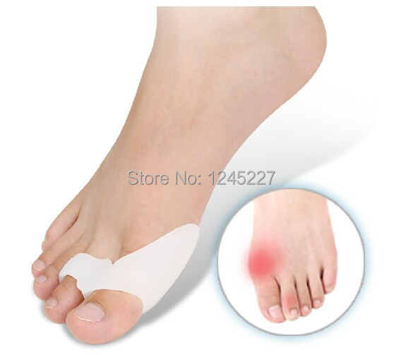 Silicone gel bunion splint big toe separator Overlapping spreader protection feet care corrector aligns health hallux valgus new(China (Mainland))