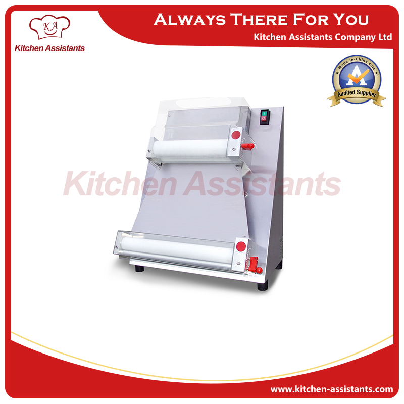 DR 1V electric stand stainless steel pizza dough roller machine pizza making machines dough sheeter