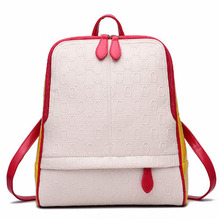 New Fashion PU Leather Women Backpack School Bags For Teenagers Girls Schoolbag Woman Travel Backpacks Ladies Shoulders Bag(China (Mainland))