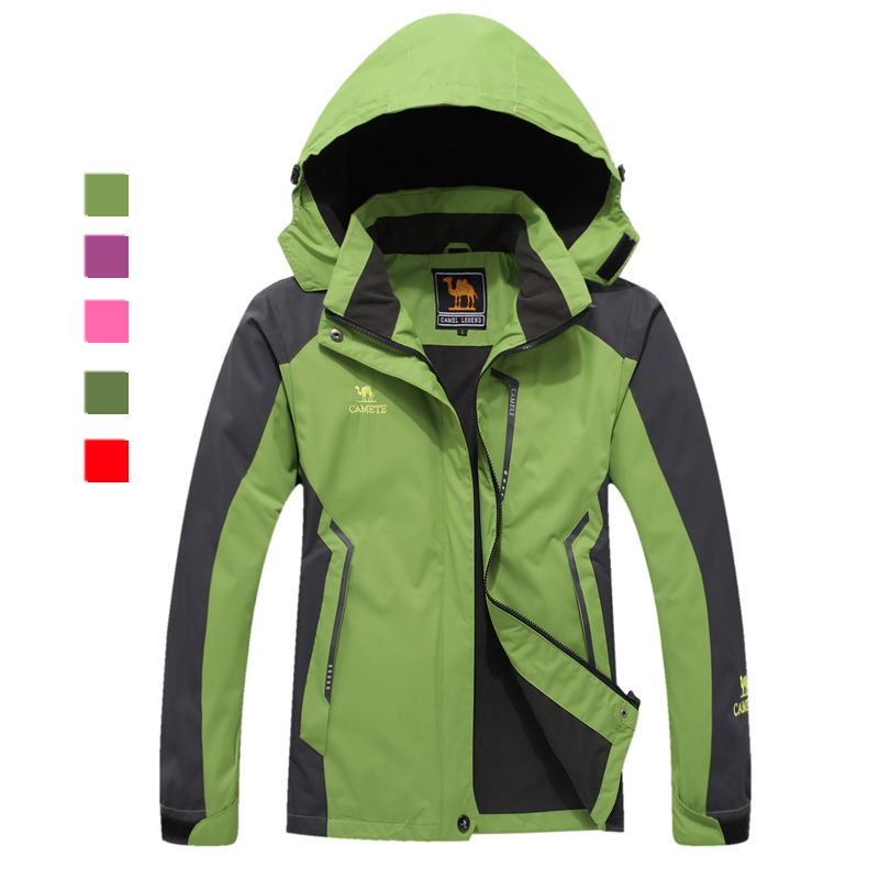 Inno Spring&Autumn woman outdoor jackets camping skiing hiking Waterproof Windproof large size 5XL IN6617W - JUDOSE Apparel Supermarkets store