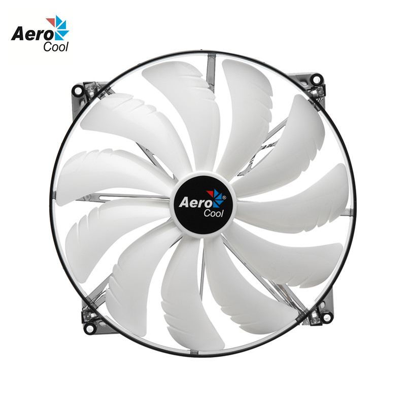 Aerocool Silent Master 200mm Fan Computer Case Fan 200 mm DC 12V 4Pin&3Pin For Computer Case Cooling Silent Fan 20cm(China (Mainland))