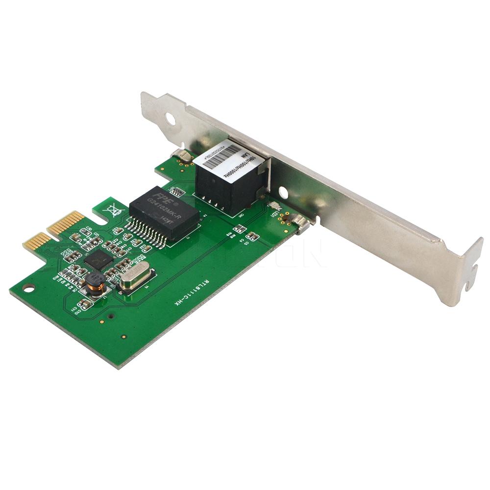 Ethernet PCI Express PCI-E Network Controller Card 10/100/1000Mbps RJ45 Lan Adapter Converter Desktop PC Computer 1000 Gigabit(China (Mainland))