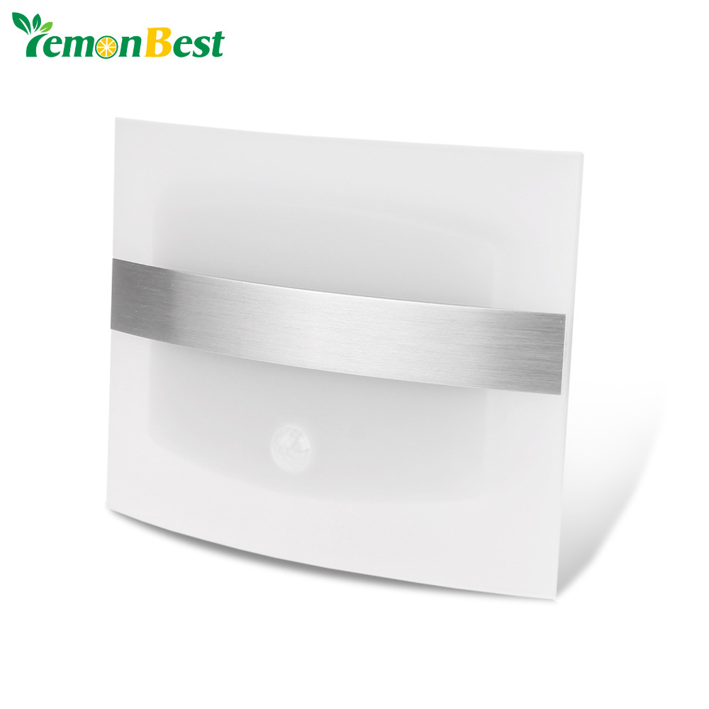 Motion Sensor Wall Sconce Battery Operated Wireless Night Light Auto Wall Lamp for Bedroom Hallway Cabinet Kitchen Closet(China (Mainland))