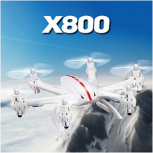 Gravity Control Mode Drone MJX X800 2.4G RC quadcopter AR.drone rc heliCopter 6-axis Can add C4002 camera & C4005 FPV quadcopter(China (Mainland))