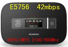 42 mbps huawei E5756 desbloqueado E5756s-2 3 g wi fi Router 3 g Router wi fi 3 g dongle móvel mifi pk e589 e587 e5776 e5372