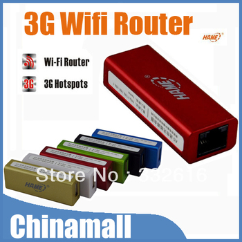 Mini Portable 2in1 150Mbps Mobile Hotspot RJ45 AP Wireless USB 3G Wifi Router For iPhone 4G/S 5 PC Free Shipping + Drop Shipment