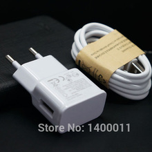 2A EU Wall Charger Adapter + Micro USB Cable for Samsung Galaxy S3 S4 S5 Mini Note 2 3 4 Nokia for Xiaomi Yijia free shipping(China (Mainland))