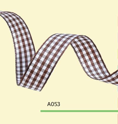 1 4 Inch 7mm font b tartan b font plaid ribbon