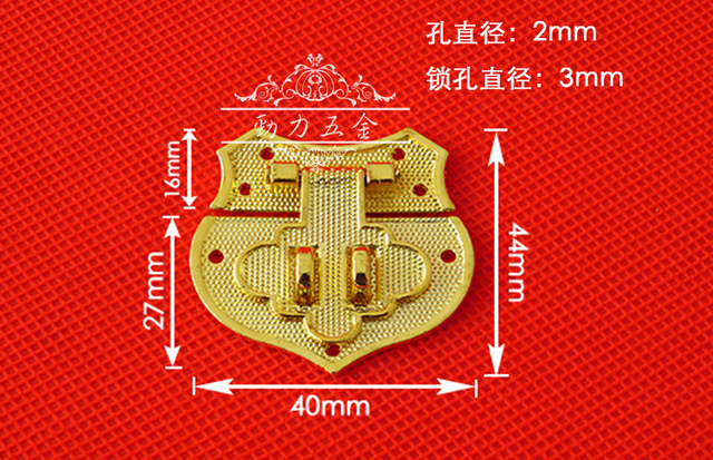 JinHe accessories imitation gold box button clasp hearts buckles alloy box button ancient wooden heart shape. 2004