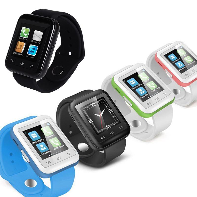 20pcs bluetooth Smart watch u9 man woman wearable WristWatch for apple iPhone Samsung Android Phone pk u8 dz09 gt08 for kids(China (Mainland))