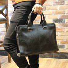 Pu Leather Bag Casual Men Handbags Men Crossbody Bag Men's Travel Bags Laptop Briefcase Bag for Man