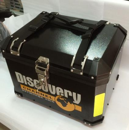 Professional Custom Made Motorcycle Rear Box Touring bike tail box pure handmade Luggage box(China (Mainland))