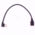 Right Angle 90 degree USB2.0 Male to female Extension mini USB Cable 30cm 20pcs/lot t hot sale Turn Left or Turn Right