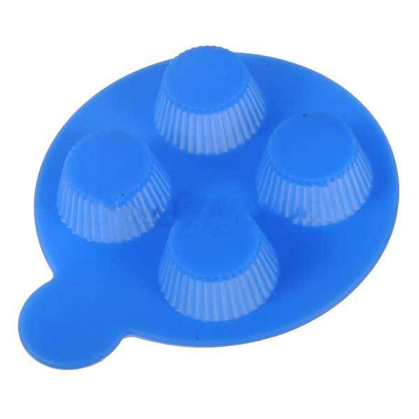 Gamla Silicone Chocolate Mold Round Muffin Cups Moon Cake Baking Mould(China (Mainland))