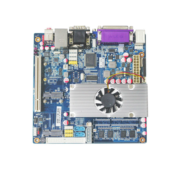 gateway router mainboard industrial embedded pc board with d525 processor 2gb ram(China (Mainland))