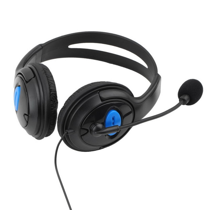 2016 New 3.5mm Headphone Game Gaming Headphones Headset With Mic Wired for PS4 Sony PlayStation 4 /PC Computer L3EF