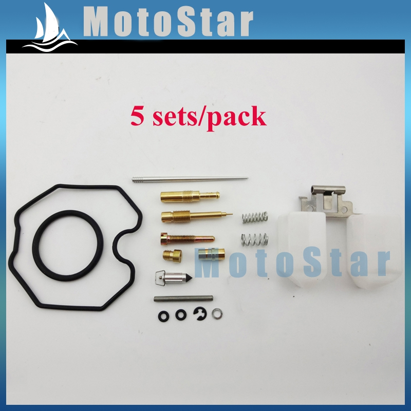 5x PZ30 Carb Parts 30mm ATV Carburetor Repair Rebuild Kit For Pit Dirt Bike Quad 4 Wheeler Motorcycle 150cc 160cc 250cc(China (Mainland))