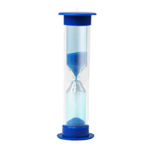 USA Delievry! Blue Cute 2 Minutes Children Kids Toothbrush Timer Sand Timer Egg Timer Gift(China (Mainland))