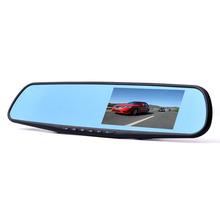 Newest 4.3 inch Full HD 1080P Car Rearview Mirror DVR Car Camera Parking Night Vision Car DVR Camera Video Recorder Free Ship(China (Mainland))