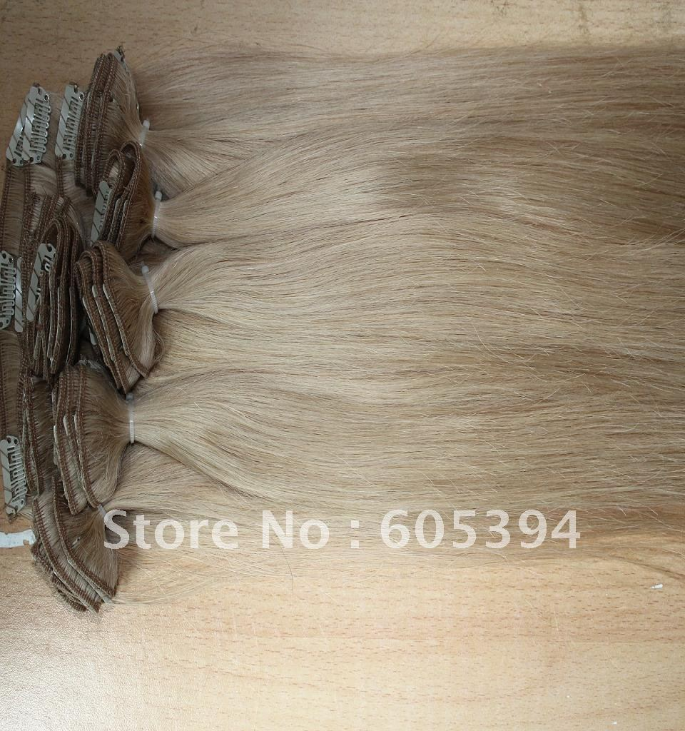 clips in hair extensons  7 width/piece  3pieces/pack    5packs/lot   16-26  can available  24#   210g/lot<br><br>Aliexpress