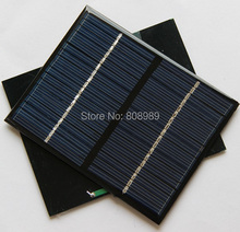 Wholesale 1.5W 18V Solar Cell Polycrystalline Solar Panel Solar Module DIY Solar Charger Education kits 10pcs/lot Free Shipping