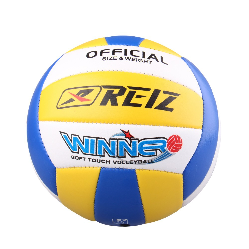 Free Shipping Official Volleyball volley High Quality Match Volleyball Training ball With Net Bag(China (Mainland))