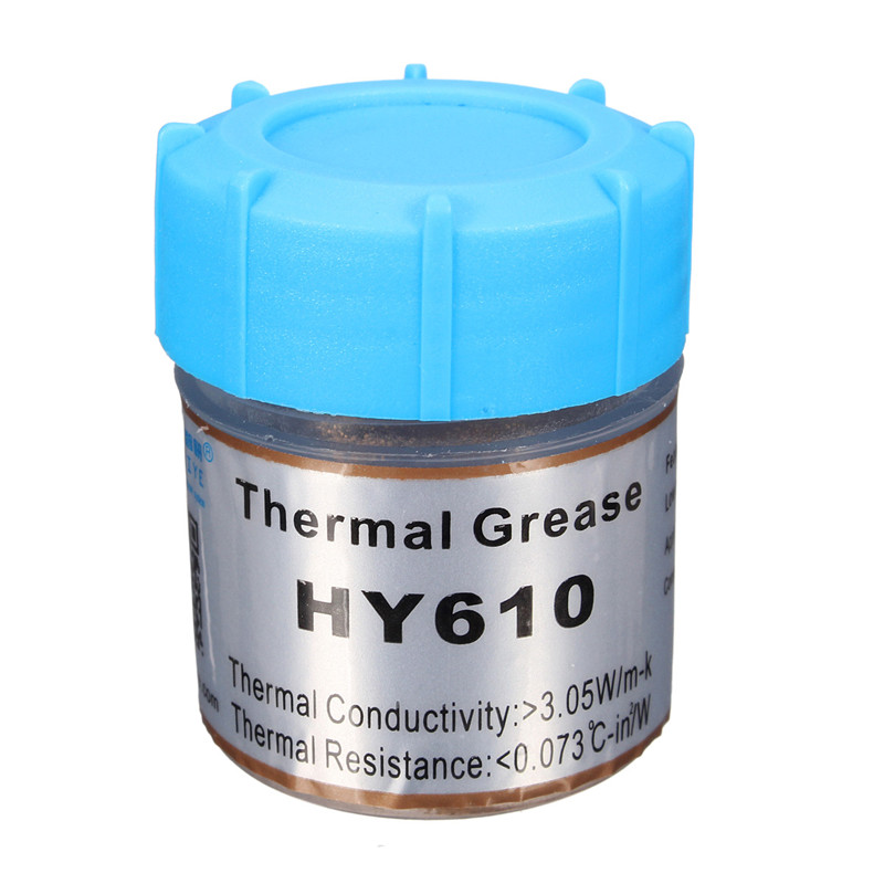 Hot Sale 10g Golden Thermal Grease Silicone Grease Conductive Grease Paste For CPU GPU Chipset Cooling
