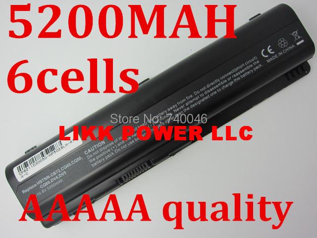 5200MAH Laptop Battery For HP Pavilion DV4 DV5 DV6 DV6T G50 G61 Compaq Presario CQ50 CQ71 CQ70 CQ61 CQ60 CQ45 CQ41 CQ40(China (Mainland))
