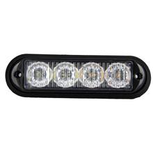 AUTO car-styling 2 x 4 LED Strobe Flash Amber Light Truck Strobe Lights HID ERROR FREE Car Side Wedge car styling Jul 19(China (Mainland))