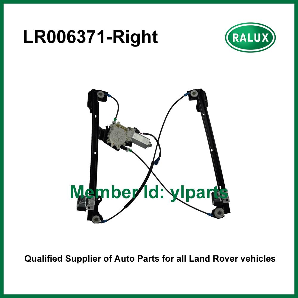 LR006371 right front car door glass regulator assembly for LR1 Freelander 1 auto window lifter top