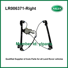 LR006371 right front car door glass regulator assembly for LR1 Freelander 1 auto window lifter top quality replacement parts