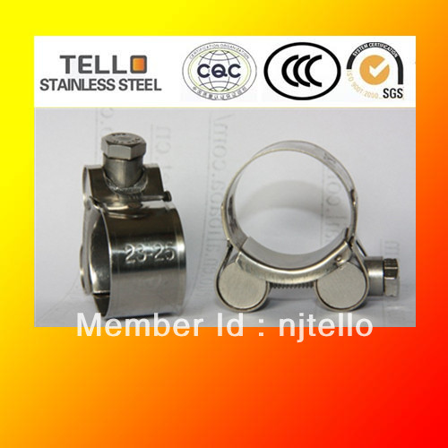 stainless steel high pressure hose clamp manufacturer - Nanjing Yuhuatai Tello Stainless Steel Products Factory store