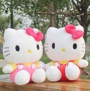 J1 Factory directly supply Hello kitty plush toy, high quality  1pc