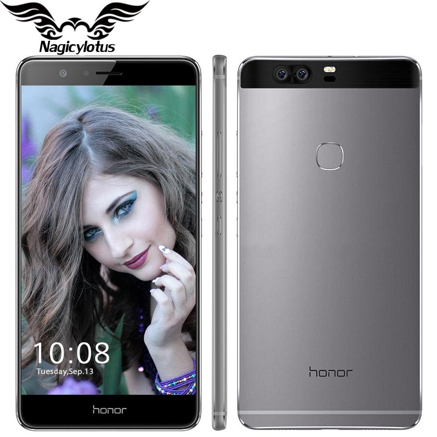 Original Huawei Honor V8 Mobile Phone 5.7 inch 2560*1440PX 2K Screen Android 6.0 Kirin 955 Octa Core 4GB RAM 32GB ROM VR Glass(China (Mainland))