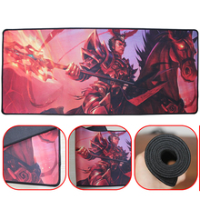 Buy 700*300mm Speed version locking edge Non-Skid rubber mousepad gaming mouse pad desk mouse pad League Legends for $9.90 in AliExpress store