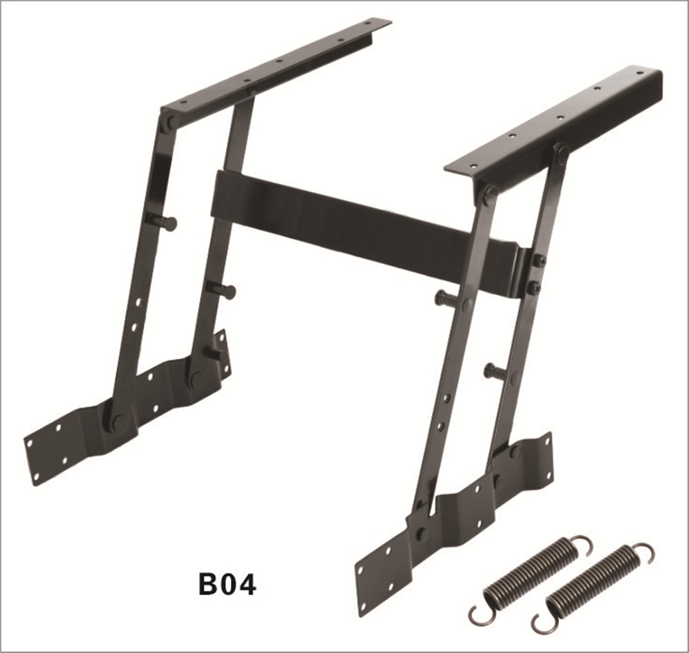 2016 Hot Lift Up Top Coffee Table DIY Hardware Fitting Furniture Mechanism Hinge Spring Free Shipping(China (Mainland))