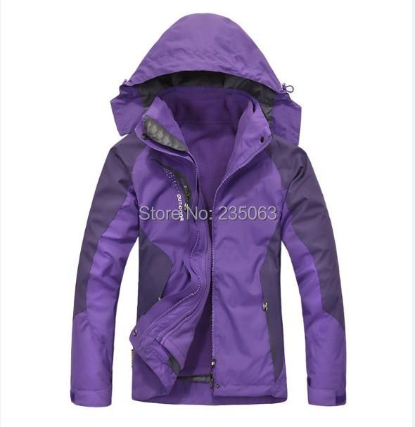 На открытом воздухе марка женщины в спорт пеший туризм на открытом воздухе куртка ...