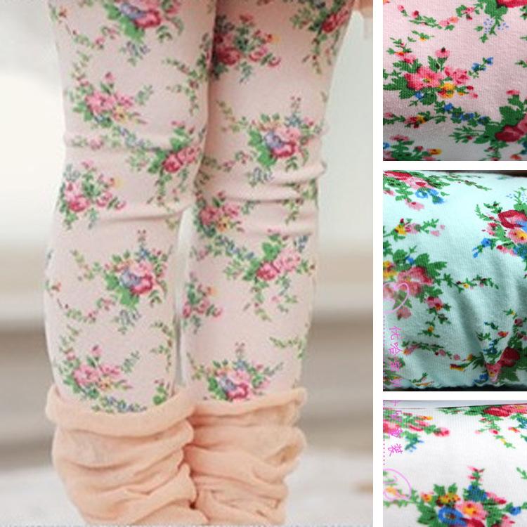 Kids Leggings For Girls Summer New Girl Legging Floral Skinny Pencil Pants Children Pants 100% Cotton Dropshipping<br><br>Aliexpress